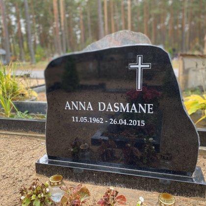 23. Kapu piemineklis no granīta (Zviedrija)