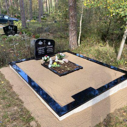 6. Kapu labiekārtošana, kapu sētiņa, kapu piemineklis, kapu apmale.