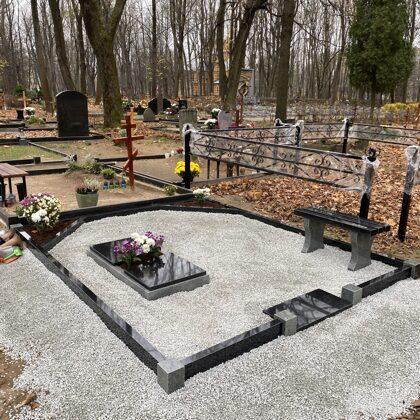 4. Kapu labiekārtošana, kapu sētiņa, kapu piemineklis, kapu apmale.