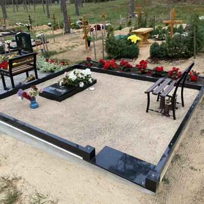 10. Kapu labiekārtošana, kapu sētiņa, kapu piemineklis, kapu apmale.