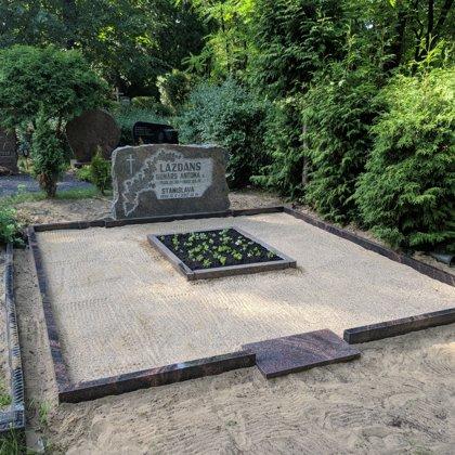 7. Kapu labiekārtošana, kapu sētiņa, kapu piemineklis, kapu apmale.