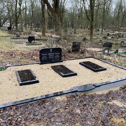 11. Kapu labiekārtošana, kapu sētiņa, kapu piemineklis, kapu apmale.