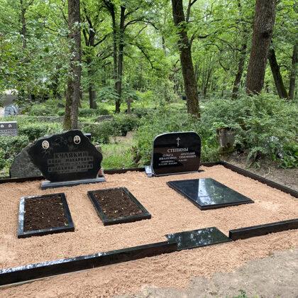 18. Kapu labiekārtošana, kapu sētiņa, kapu piemineklis, kapu apmale.